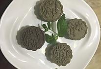 手工绿豆糕(红豆馅)的做法