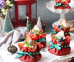 圣诞千层蛋糕福袋的做法