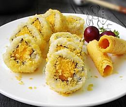 脆皮芒果卷——盛夏里的花样反转水果寿司的做法