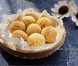 南瓜小麻球--很受小朋友欢迎的小甜点的做法