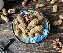 在#憋在家里吃什么#简单又好吃的零食~五香花生的做法