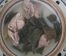 海带豆浆骨头汤的做法