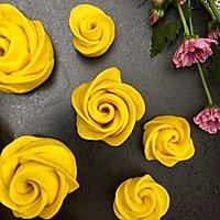 南瓜玫瑰花馒头的做法图解13