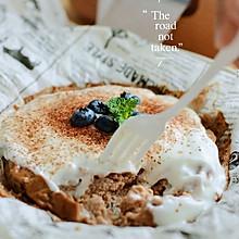 无面粉0糖油早餐☘可可酸奶蛋糕