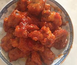 糖醋排骨蕃茄酱版的做法