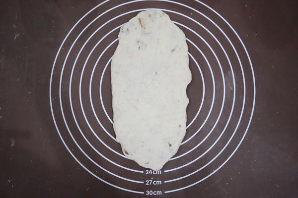 长帝蒸烤箱食谱-核桃红枣乳酪欧包的做法图解8