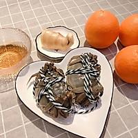 蟹酿橙的做法图解1
