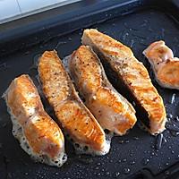 黑椒三文鱼的做法图解10