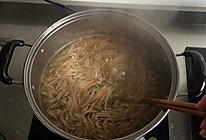 羊肉白菜骨汤面的做法