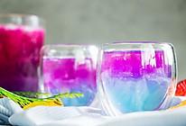 超美星空的水果气泡酒的做法