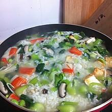冬日暖胃菜泡饭