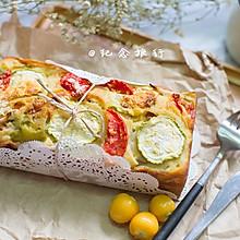 法式田园咸蛋糕#Gallo橄露橄榄油#