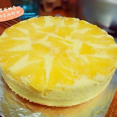 翻转菠萝乳酪蛋糕
