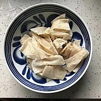 #肉食者联盟#白菜腐皮炖五花肉的做法图解8