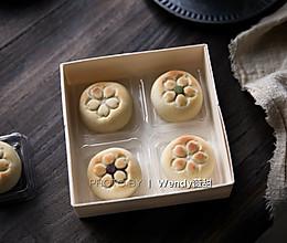 无油无面粉的日式月饼的做法