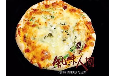 披萨饼(角瓜腊肠)
