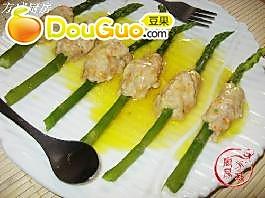 鸡茸酿芦笋的做法