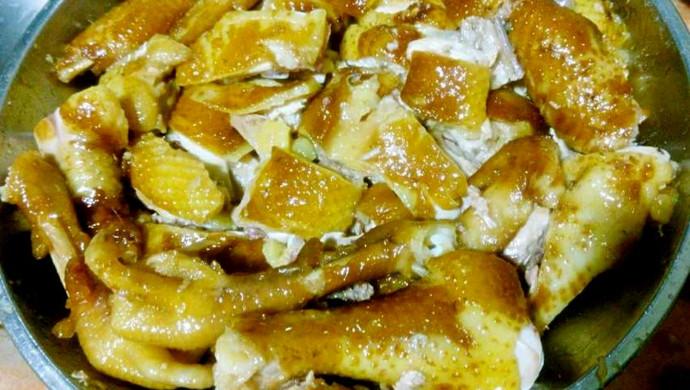 广东年夜饭必备--豉油鸡