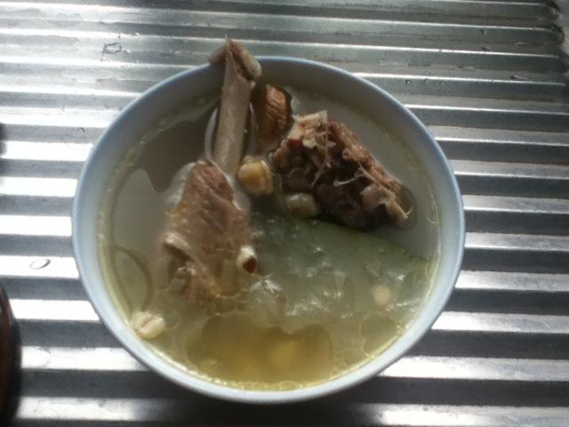 冬瓜薏米茨实煲老鸭