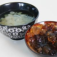 桃胶皂米红枣羹的做法图解3