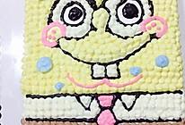海绵宝宝奶油蛋糕的做法