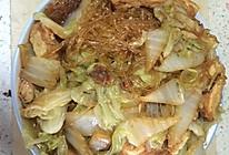 冰天雪地里的家常菜———白菜豆腐粉丝的做法