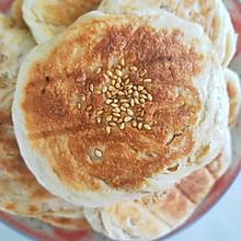 五香麻酱烧饼