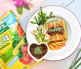 轻食沙拉-春暖花开的做法