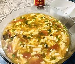 夏日开胃汤~酸辣汤的做法