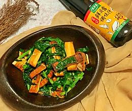 #春日时令,美味尝鲜#韭菜炒香干的做法