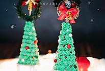 圣诞树蛋糕的做法