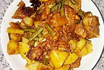 排骨炖豇豆长豆角土豆的做法