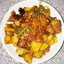排骨炖豇豆长豆角土豆