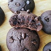 #憋在家里吃什么#巧克力软曲奇