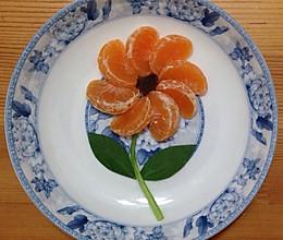 桔子花的做法