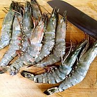 煎大虾的做法图解1