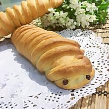 毛毛虫肉松面包