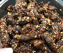 川味麻辣牛肉干的做法