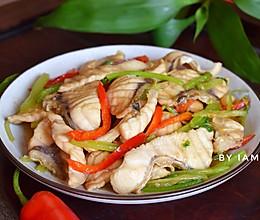 #快手又营养,我家的冬日必备菜品# 香芹脆肉脘鱼片的做法