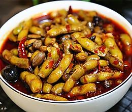 麻辣卤毛豆的做法