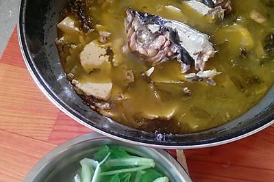 鱼头豆腐烫