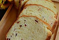 #东菱魔力果趣面包机之奶香蔓越莓软面包的做法