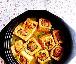 酿豆腐#我要上首页清爽家常菜#的做法