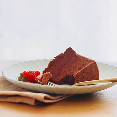 巧克力可可戚风