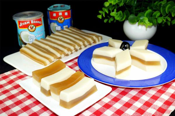 椰汁马蹄糕---雄鷄標™椰浆试用菜谱