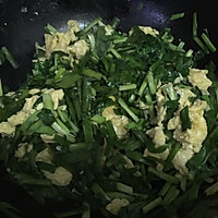 韭菜炒鸡蛋的做法图解6