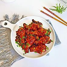 #橄榄中国味 感恩添美味#香菇焖鸡腿