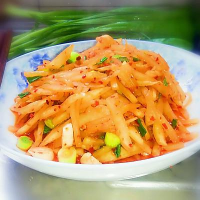 开胃酸萝卜