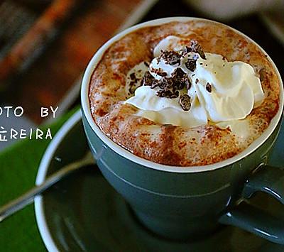 冬季熱飲 雪頂熱巧克力