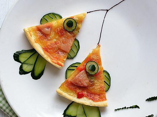 可爱活泼的小鱼早餐的做法